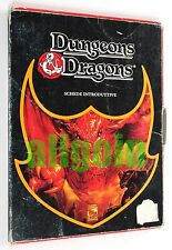 Dungeons & Dragons SET BASE BASIC SCATOLA NERA 1991 EG #2600 SCHEDE INTRODUTTIVE