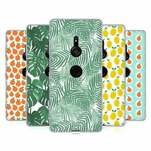 OFFICIAL CHARLOTTE WINTER TROPICAL PATTERNS GEL CASE FOR SONY PHONES 1