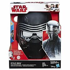 HASBRO STAR WARS THE LAST JEDI KYLO REN ELECTRONIC VOICE CHANGER MASK