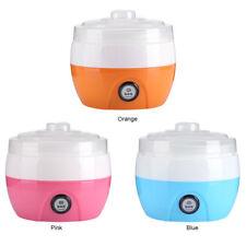 3 Color 220V 1L Yogures DIY Maker Yogurt Container Máquina Automático Yogurtera