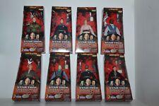 8x Star Trek Playmates 9inch figures 1998 ASST 65360 Insurrection