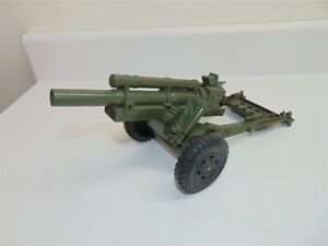 Vintage Marx Lumar Mobile Howitzer Artillery Toy Field Cannon-Cocks and Fires