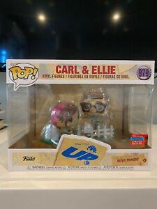 NYCC 2020 Funko Pop Disney Pixar's UP Carl And Ellie Shared Sticker IN HAND!