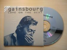 SERGE GAINSBOURG : LOVE ON THE BEAT [ CD SINGLE ]