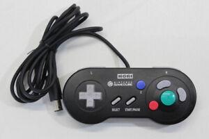 Official HORI Digital Controller HGC-11 Black Nintendo GameCube JPN Import RARE