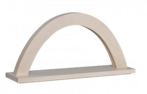 Candle Arches Window Decor Illuminated Arch Maple Natural Size Ca 42x11x23 CM