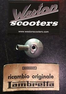 Lambretta Carb fuel inlet/Banjo cover -Series 3, genuine Innocenti, NOS