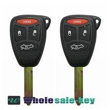 2 Replacement for Chrysler 2006-2010 PT Cruiser Remote Car Key Fob Kobdt04a