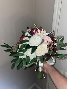 used bridal wedding bouquet