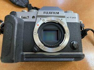 FujiFilm X-T20 Mirrorless Digital SLR Camera - Sliver (Body Only)