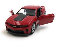 Model Car Chevrolet Camaro ZL1 Muscle Car Wine Red Car 1:3 4-39 (Licensed)