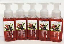 5 Bath & Body Works Wild Berry Garden Gentle Foaming Hand Soap Wash