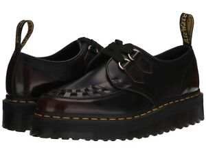 Unisex Shoes Dr. Martens SIDNEY Quad Creepers Leather Oxfords 25742600 ARCADIA