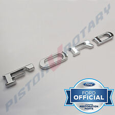 FORD Trunk Hood Badge Letters New for FORD Capri Cortina Escort MK1 MK2 MK3 GT