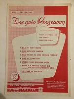 """ Das gute Programm "" Heft 30 - Künstlerexemplar"
