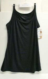 Jockey women's soft and comfy camisole size XL black style 2074