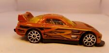 2002 HOT WHEELS 24/SEVEN GOLD CAR USED LOOSE 1:64