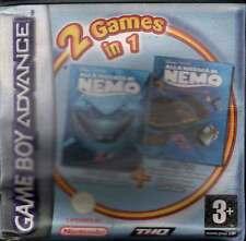 Alla Ricerca Di Nemo 1 + Nemo 2 Game Boy Advance GBA Nuovo 4005209069366