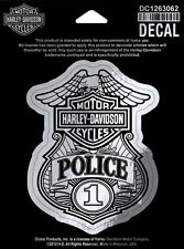 Harley-Davidson Police Original DECAL