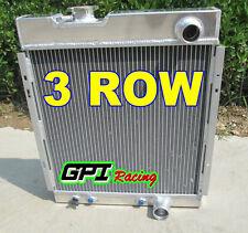 3 CORE FORD MUSTANG V8 289 302 WINDSOR ALUMINUM RADIATOR 1964 1965 1966
