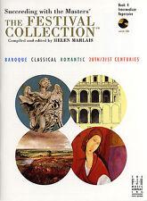 Éxito con los maestros Festival Colección jugar música de piano Libro 4 & Cd