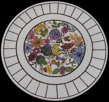 Floral Wall Plaque / Plate By Muriel Pearson - Art Deco