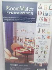 Roommates Prepasted Wallpaper Cutouts - Alphabet