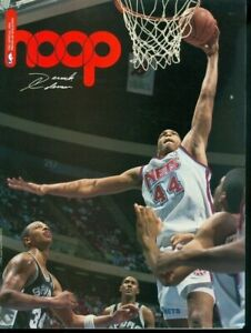 1992 Hoop Program/Magazine: Derrick Coleman - New Jersey Nets