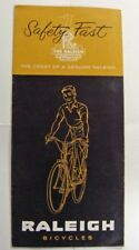 vintage NOS 1950's Raleigh Bicycle Company CATALOG bike brochure