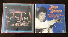 TOM JONES RECORDS-This Is Tom Jones, Memories Don't Leave Like People Do, NEW!