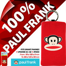 Funda calcetín teléfono Paul Frank semi inteligente Móvil Bolsa Universal Cámaras Digitales