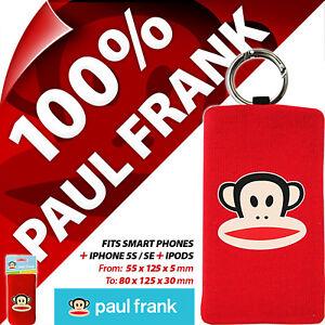 Paul Frank Phone Sock Case Cover Semi Universal Bag Mobile Smart Digital Cameras