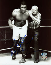 MIKE TYSON AUTHENTIC AUTOGRAPHED SIGNED 8X10 WITH CUS D'AMATO BECKETT 180909
