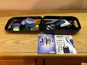Wahl Color Pro Complete Hair Cutting kit 20 piece Color Coded Haircut -Used Once