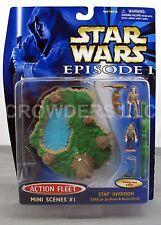 Star Wars Episode 1 TPM Action Fleet Mini Scene #1 STAP Invasion Galoob 1999 NiB