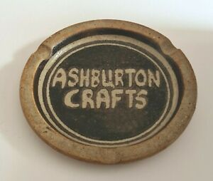 Trevillian Pottery-Ian Box-Ashburton Crafts-Cornish-Studio Pottery-Ashtray