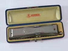 HOHNER CHROMONICA 280 HOHNER 60'er anni con custodia originale