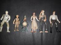 Lot of 6 - 1990s LFL Star Wars Action Figures NO DUPLICATES RARE SET CLEAN