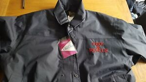 Fire and Rescue Waterproof Jacket XXL