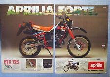 MOTOSPRINT986-PUBBLICITA'/ADVERTISING-1986- APRILIA ETX 125