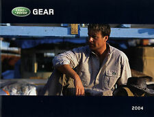 Prospectus D F Land rover Gear 2004 ACCESSOIRES ACCESSORIES modèle voitures mode H C
