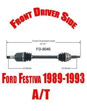 Front Driver Side Axle for Ford Festiva 1989-1993 with Automatic Transmission