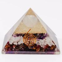 Extra Large 70- 75 MM Orgone Pyramid Energy Generator for Love and Relationship