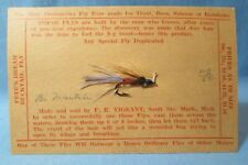 Fly Fishing Brown Martin Hand Tied Salmon Bait Lure - Vintage Fish Sporting