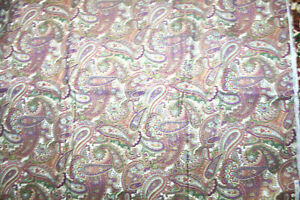 PAISLEY IN BROWN AND PURPLE FROM HI FASHION