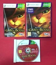 El Gato con Botas - XBOX 360 - USADO - MUY BUEN ESTADO (Requiere Sensor Kinect )