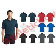 New Men's Shirt Port Authority Dry Zone UV Micro-Mesh Pocket Golf Polo UPF 30