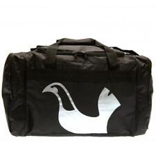 Tottenham Hotspur FC Official Crested Black Holdall Bag Gym School Present Gift