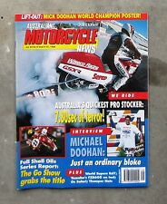 MOTORCYCLE NEWS Sep 1994 - AMCN YAMAHA FZR 600 GASSIT HUSQVARNA DOOHAN PRO STOCK