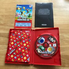 New Super Mario Bros. - Nintendo Wii - Complete Great Condition - Kids & Family